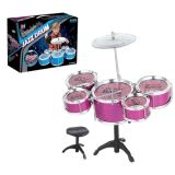 En71 Approval Intelligent Toy Jazz Drum Set with Chair (10182600)