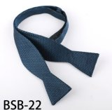 Men′s Fashionable Silk /Polyester Self Bowtie (Bsb-22)