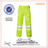 Cargo Hi Vis Mens Stripe Reflactive Uniform Workwear Pants