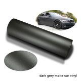 Tsautop Dark Grey Matte Car Wraps Vinyl for Car Wrapping