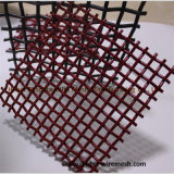 High-Carbon Steel The Flat Panel Lock Crimped Weave Wire Mesh