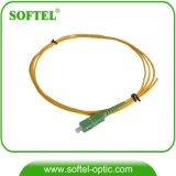 Sc/APC Sm Simplex Fiber Optic Patch Cord