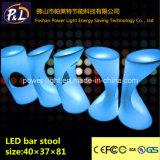 LED Furniture Lighted Plastic LED Stool