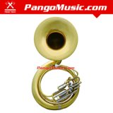 Bb Tone Yellow Brass Sousaphone (Pango PMSH-7600)