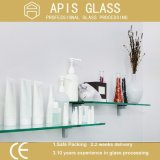 6 - 12 mm Bathroom Accessories Wall Mounted Floating / Tempered Glass Shelf
