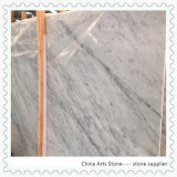 Italy Carrara White Marble Slab for Countertop and Tile