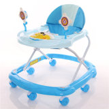 Cheap Plastic Wheels Baby Walker with 8 Swivel Wheels in High Quality Popular in China
