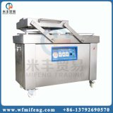 Automatic Double Chamber Sausage Chicken Meat Vacuum Sealing Machine