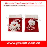 Christmas Decoration (ZY16Y071-1-2 18.5X15CM) Felt Christmas Packing Bag