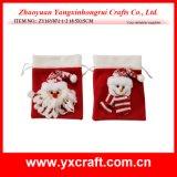 Christmas Decoration (ZY16Y071-1-2 18.5X15CM) Felt Christmas Packing Bag