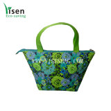 Quilted Cotton Tote Cooler Bag (YSCLB00-095)
