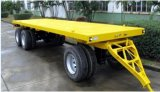 3 Axle Flatbed Full Trailer with Size 11500mm*2500mm*1400mm