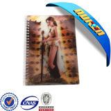 Custom Spiral 3D Cover Notebook