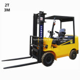 HS-C3020 2tons Electric Forklift Lifting 3m Hydraulic Braking Battery Scraper