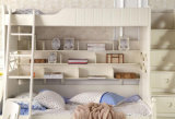 Solid Wooden Bed Room Bunk Beds Children Bunk Bed (M-X2205)