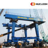 China Leading Manufacturer Marine Rubber Tyre Mobile Gantry Crane