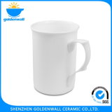 Eco-Friendly White Milk Mug with Fine Bone China