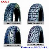 90/90-18 Motorcycle Tire, New Patterns Motorcycle Tire