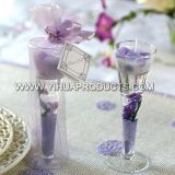 Gel Candle in Glass Jar for Decoration