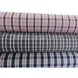 Cotton Yarn Dyed Dobby Plaid Shirting Fabric (LZ5889)