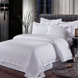 White Customized Cotton Luxury Hotel Bedding Set