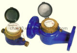 Multi-Jet Dry Type Vane Wheel Water Meter with Rotary Register