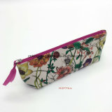 Flower Prints PVC Small Cute Cosmetics Pouch Makeup Pouch Bags