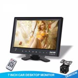 HD Rear View Camera and Car Multimedia System with 7 Inch Monitor
