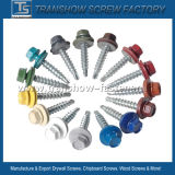 Russian Market Various Collored Roofing Screws