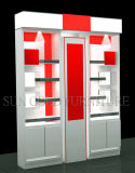 Popular Melamine White and Red Performace Display Rack (SZ-WDR025)