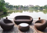 High End Outdoor Furniture Wicker Sofa Set