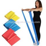 Eco-Friendly Elastic Custom Resistance Band Yoga Belt