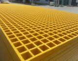 Panel Size Available 1220mm X3660mm, 915mmx3050mm, 1220mmx2440mm Fiberglass/FRP Molded Grating with High Strength Corrosion Resistant