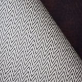 W Shape Printed Wall Paper Room Adornment PVC Leather