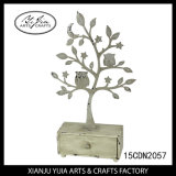 Decoration Metal Tree Crafts with Small Drawer