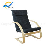 Black Color Fabric Natural Arms Home Furniture