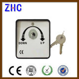 European 220V 2 Position 3 Postion Key Operated Switch for Electric Rolling Shutter Garage Door Automatic Door