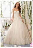 2016 Lace Beaded Ball Gown Bridal Wedding Dress Wd5406