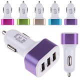 Three Port 5.1 a High-Capacity Car Charger