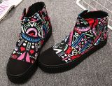 Fashion Casual Lady Canvas Shoes (W04-1)