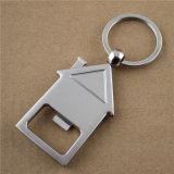 House Shaped Keychain Bottle Opener with Customized Logo