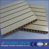Eco-Friendly Perforated Wood Decorative MDF Acoustic Board