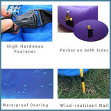 Fast Filling Waterproof Inflatable Sleeping Bag Inflatable Air Bed