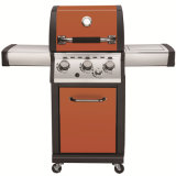 Outdoor 3 Burner LPG Stainless Steel Gas Grill Barbecue BBQ