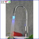 Hands Free Colorful Automatic LED Sensor Faucet (QH0108F)
