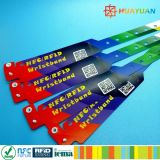 13.56MHz MIFARE Classic 1K Passive RFID disposable wristband
