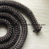 "7/8"" Black Graphite Fiberglass Rope Gasket Stove Door Seal"