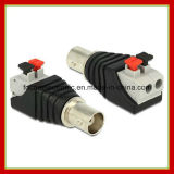 Quick Use CCTV Cable BNC Female Pressed Plug Connector Adapter