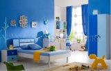 2017modern High Gloss Kids Sleeping MDF Wood Bed Designs (SZ-BF8863)