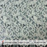Ivory Allover French Lace Fabric (M2194-MG)